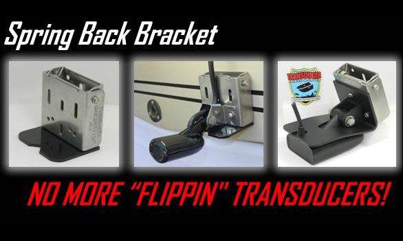 Transducer Shield & Saver - Spring Back Brackets
