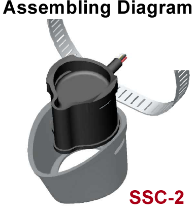 SSC-2 to fit Lowrance Pod transducer
