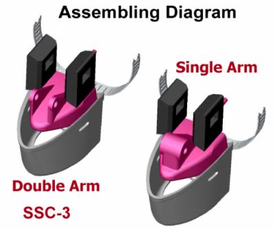 SSC-3 to fit Humminbird high speed transducer