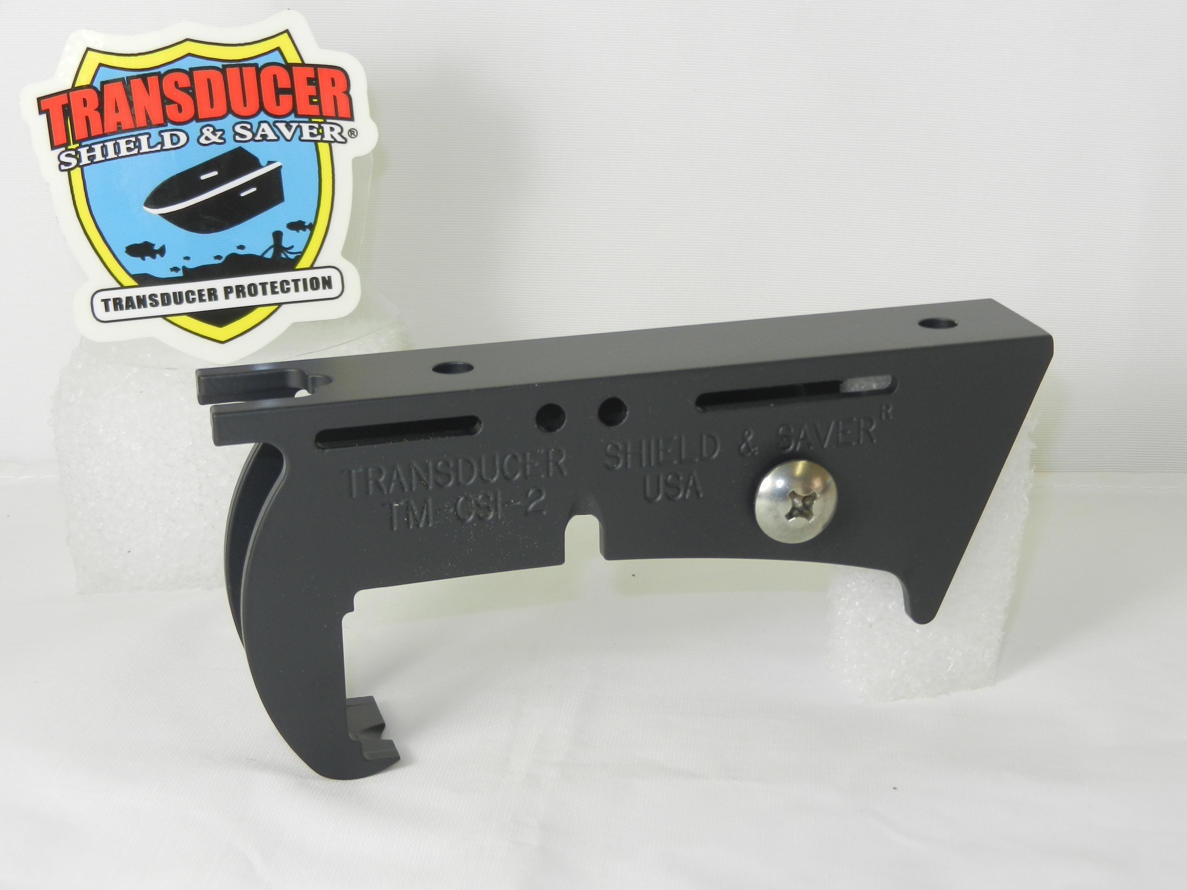 Transducer Shield And Saver Tm Csi 2 Fits Humminbird Side