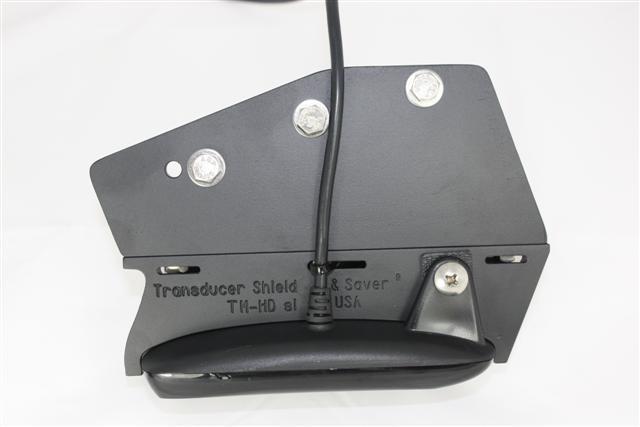 TRANSDUCER SHIELD /& SAVER TM-HDSI STRAPS for Humminbird Side Image