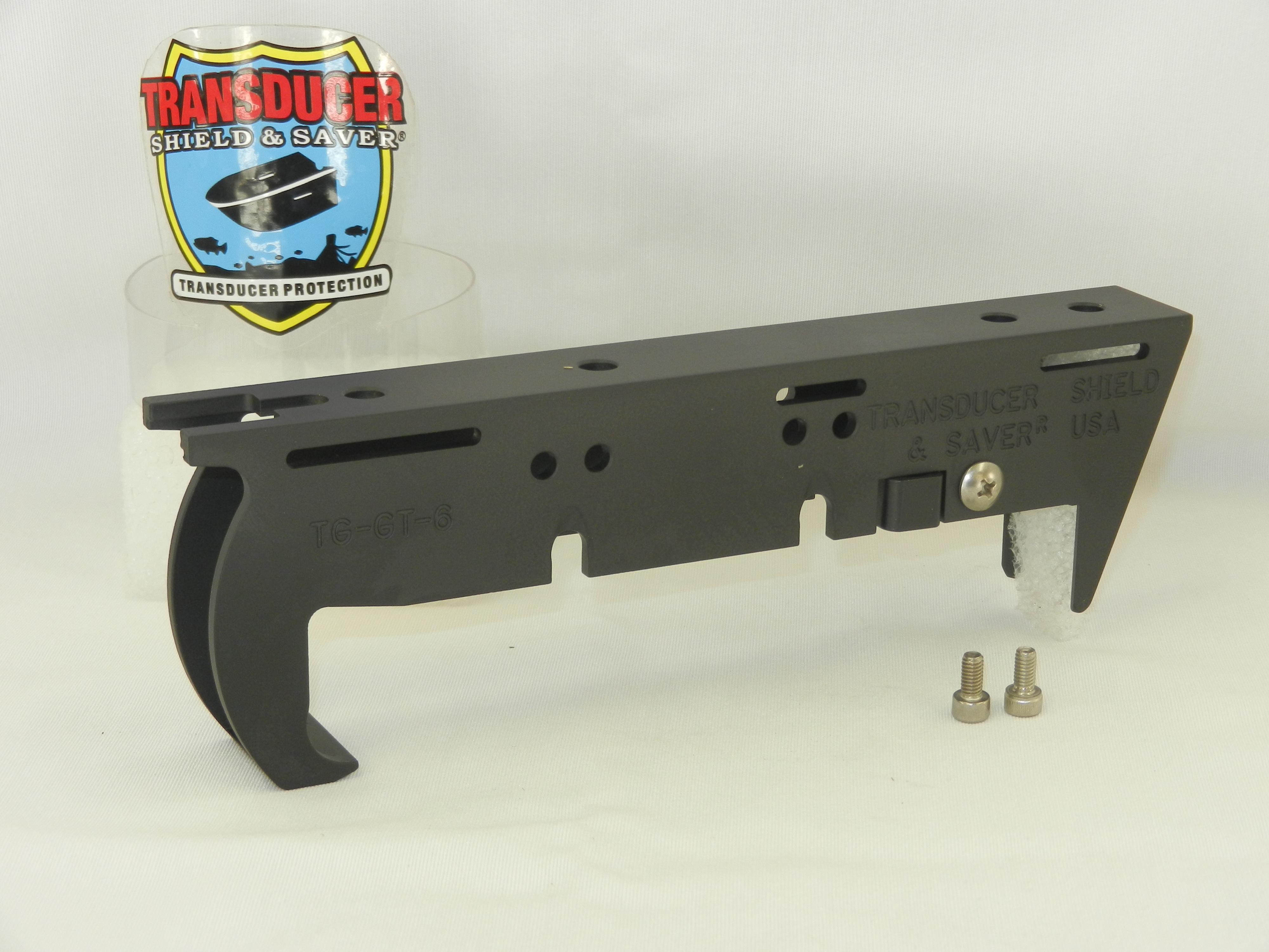 TG-GT-6 to fit Garmin DownVü/SideVü xDucer GT22 or GT52 for Trolling Motor,  Jack Plate or Set Back installation