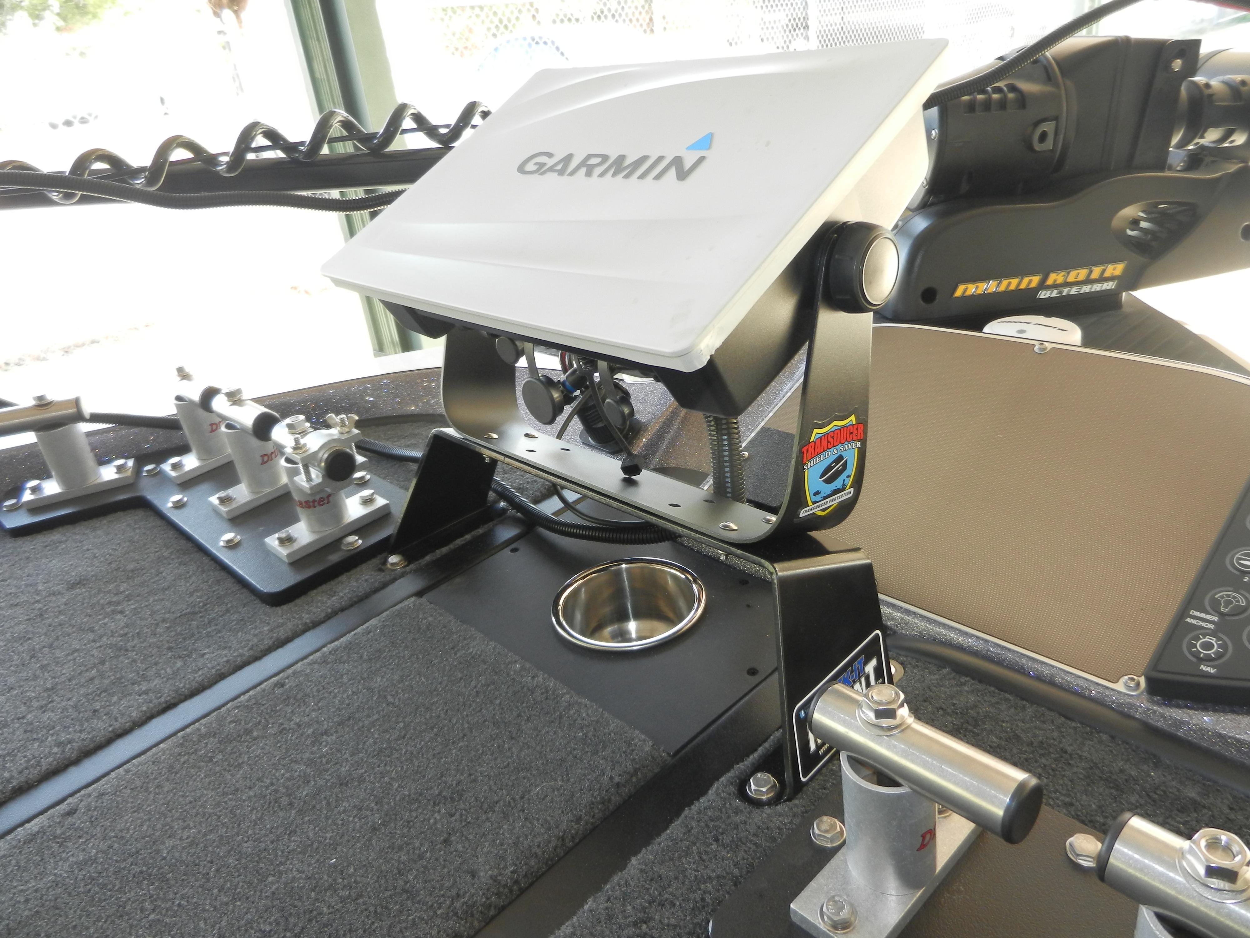 Transducer Shield and Saver Dek-It 22.5° Fish Finder Mount
